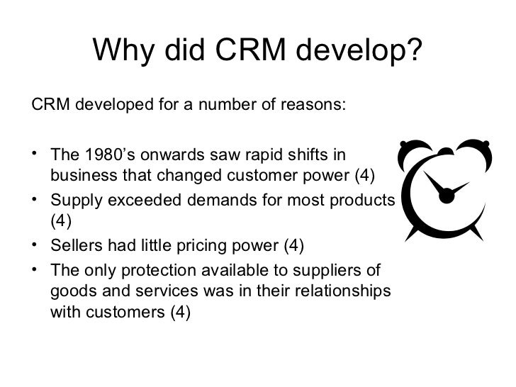 Customer Relationship Management Notes
