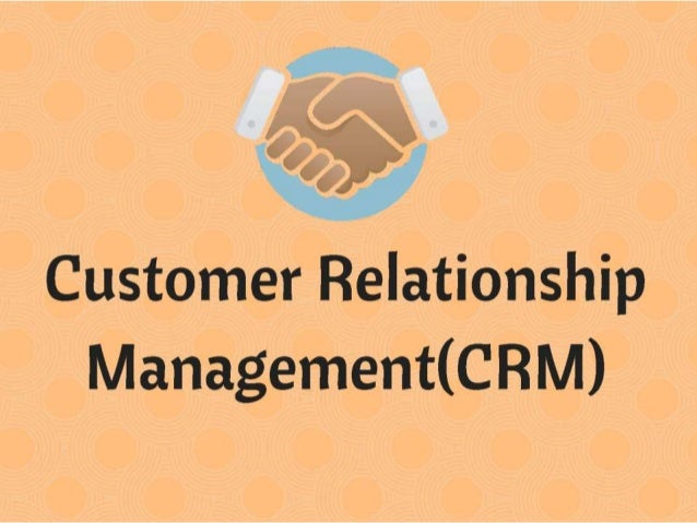 customer relationship management related topics in biology