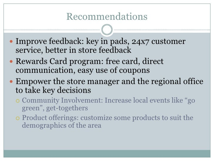 How to improve the current marketing strategy of starbucks