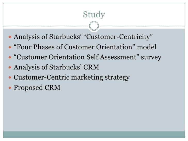 starbucks crm strategy Starbucks' growth strategy open more starbucks share tweet reddit flipboard email you might think there couldn't possibly be any room left in america for another.