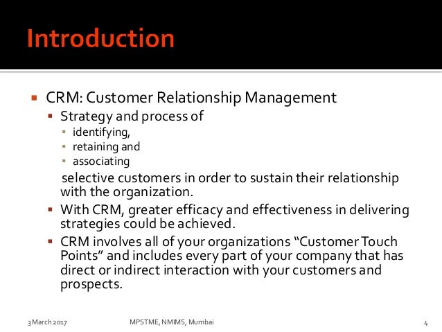 """customer relationship management consists of the process company marketing essay A brief literature review: customer relationship management posted on june 20, 2013 by john dudovskiy customer relationship management has been defined as """"a business approach that integrates people, processes, and technology to maximise relationships with customers"""" goldenberg (2008, p3)."""