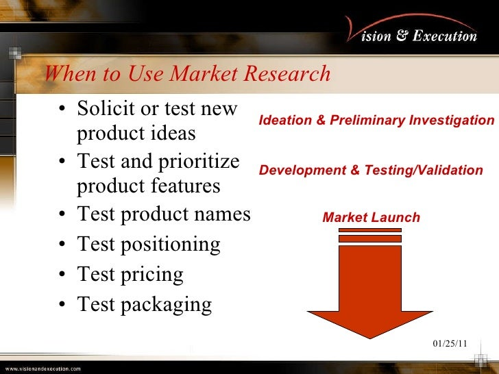 evaluate why market research can reduce the risks of a new product launch A product does not have to be an entirely new product, can be a new model (car), a new product for the company, or repositioning a product to a new market  product screening and evaluation new product check list list new product attributes considered most important and compare each with these attributes  product complexity and risk.