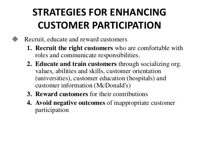 customer contributions and roles in service 4 the role of a customer service agent customer service isn't just about being  courteous to your customers – it's a vital element of business.