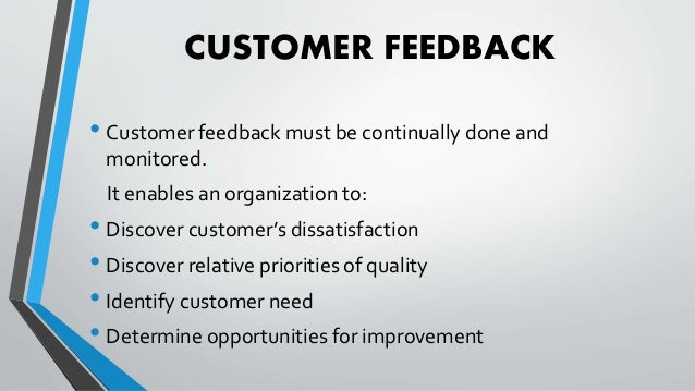 customer satisfaction definition The theory predicts that the two immediate consequences of increased customer satisfaction are decreased customer complaints  this definition is similar to.
