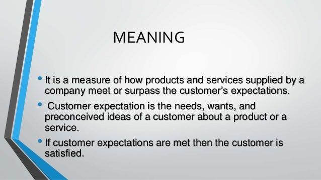 Trends of 'customer satisfaction'