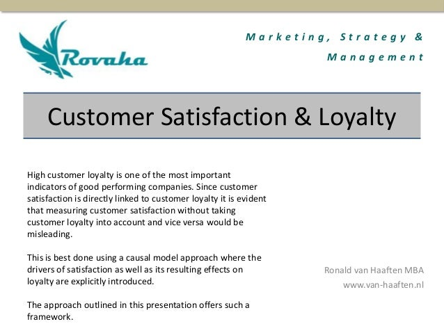 factors affecting customer loyalty programs essay External and internal environments essay it is necessary to consider internal factors high customer loyalty and appreciation.