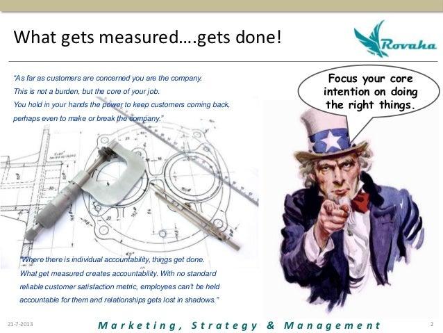 Customer satisfaction and loyalty Slide 2