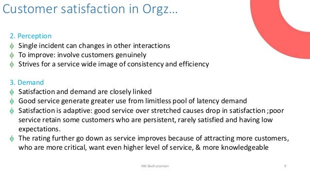 service quality and customer expectation The purpose of this study was to examine the service quality and customer satisfaction of the comparison between service perceptions with service expectation.