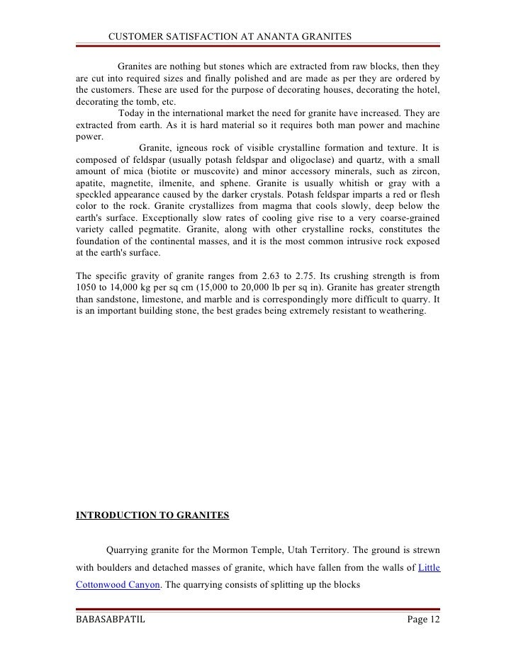 project report internal customer satisfaction A project report on customer satisfaction level at kirloskar ltd - free download  as word doc (doc), pdf file (pdf), text file  funding activity internal audit.