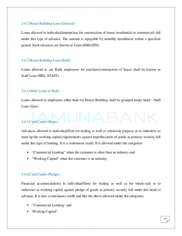 general banking activities of jamuna bnak Major objective of this report is to discuss and analysis general banking activities  of jamuna bank limited jamuna bank limited undertakes all types of.