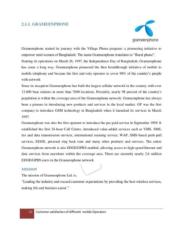 customer satisfaction of banglalink Factors affecting customer satisfaction in bangladesh telecom industry - read online for free factors affecting customer satisfaction in telecom industry 1.