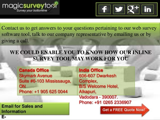 the advanatages and roles of conducting surveys Perception surveys: their importance and role in safety performance by judith erickson  since almost all major companies and industries are conducting surveys, it .