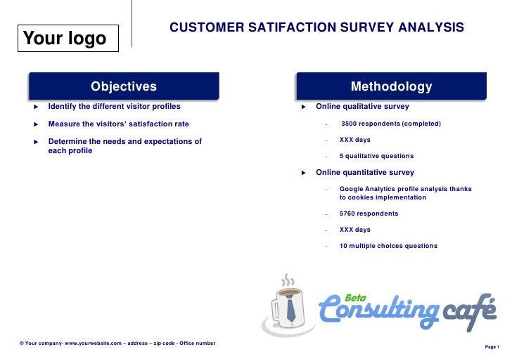 10 key customer satisfaction measures