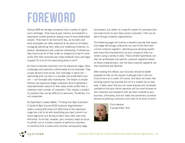 ForewordStartup B2B technology companies face a variety of signifi-         businesses), but rather on a specific subset o...