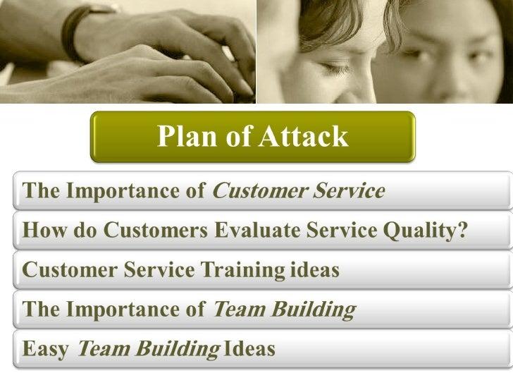 خدمة العملاء  Slide 2
