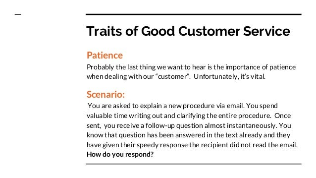 good customer service traits customer service serving your customer in any employment hierarchy