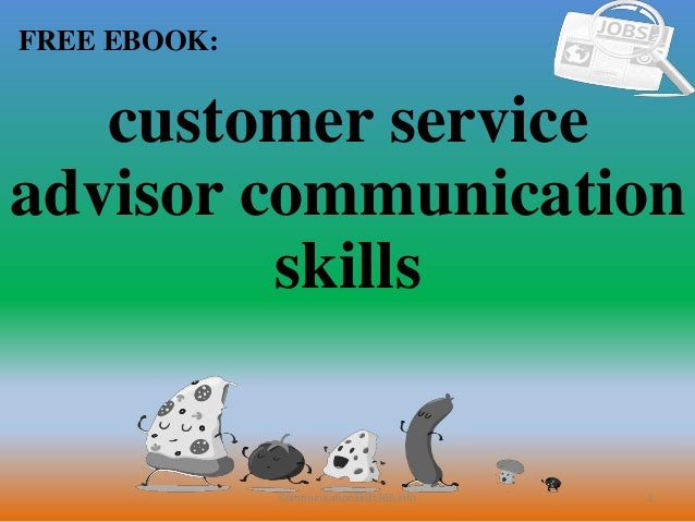 skills for customer service advisor