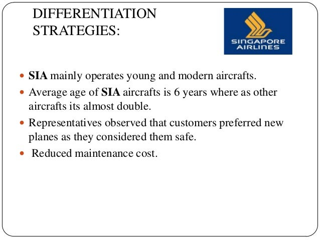 singapore airlines strategy