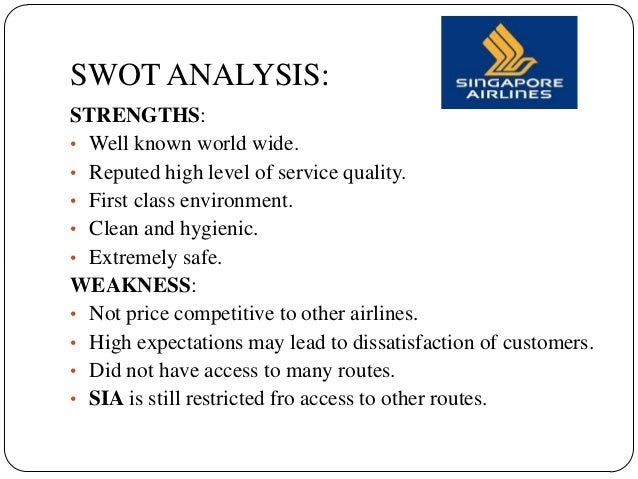 swot emirates Brand:-emiratestagline:-fly emirates,keep discoveringsector:-airlinesusp:-premium ,luxurious airlinestarget group:-corporatesupper class,middle upercompetitors:-cathay pacific,qatar airways,jet airwaysstrength:--dubai government supporting verywell-big business hub in dubai-huge customer base-covering 72 countries-50000 employee.