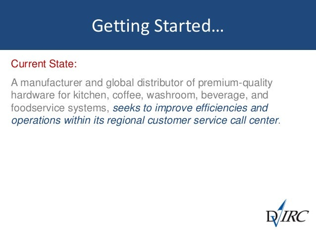 Customer Service  Call Center Benchmark Study Slide 2