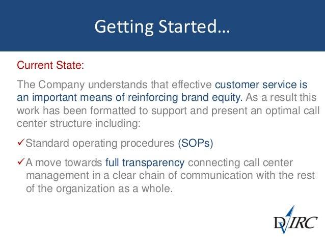 Customer Service  Call Center Benchmark Study Slide 3