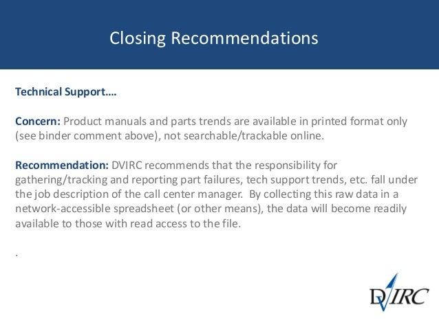 technical support call center job description