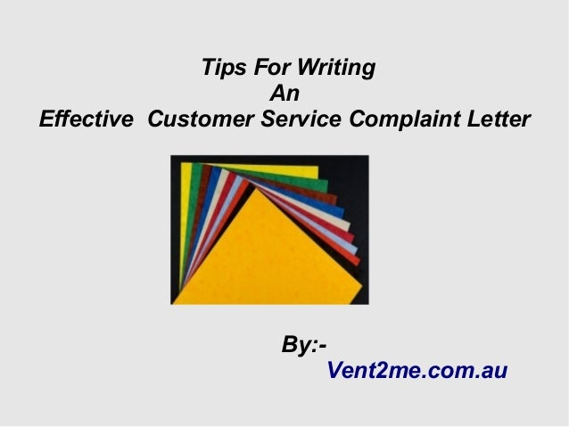 how to write a letter to customer service Actionable customer service tips and ideas, delivered weekly customer service how to write a killer customer thank-you note customer.