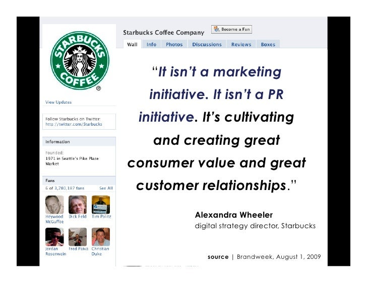 """""""It isn't a marketing   initiative. It isn't a PR  initiative. It's cultivating    and creating great consumer value and g..."""