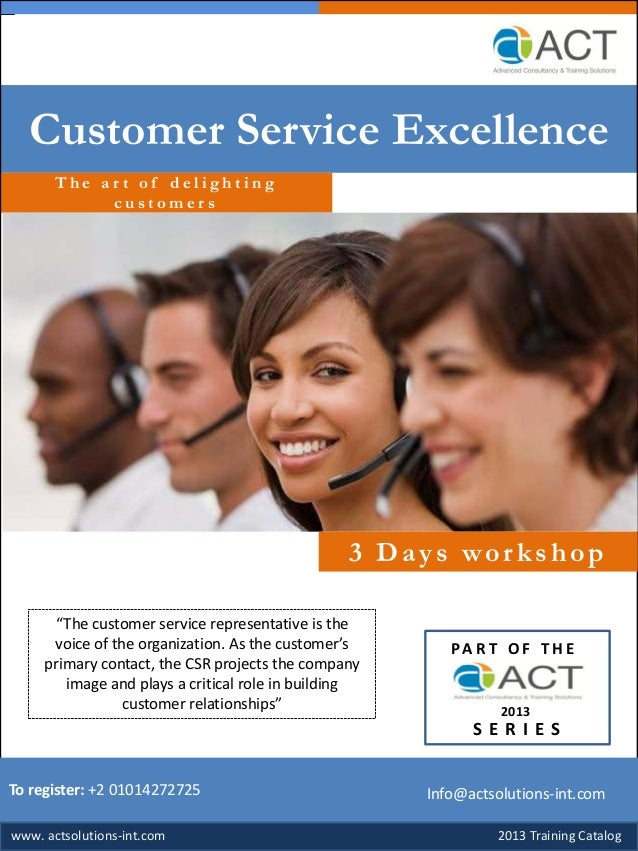 Customer service excellence Slide 2