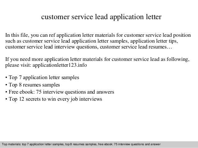 Cover Letter For Customer Service Representative from image.slidesharecdn.com