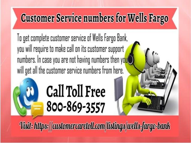 wells fargo bank number customer service