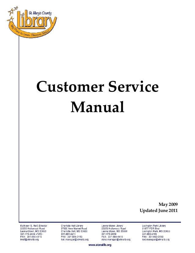 customer service policy manual un11 rh slideshare net customer service manual for showrooms customer service manual sample