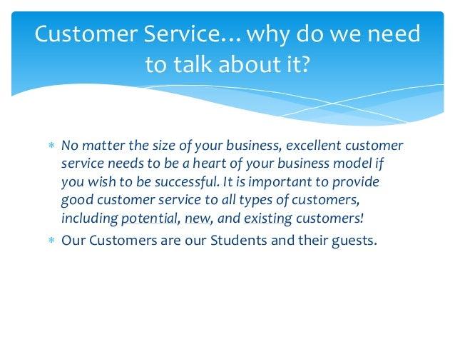 types of customer service training