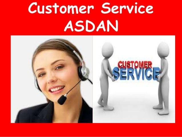 Customer Service ASDAN