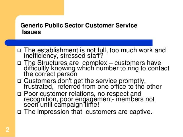 What is 'Customer Service'