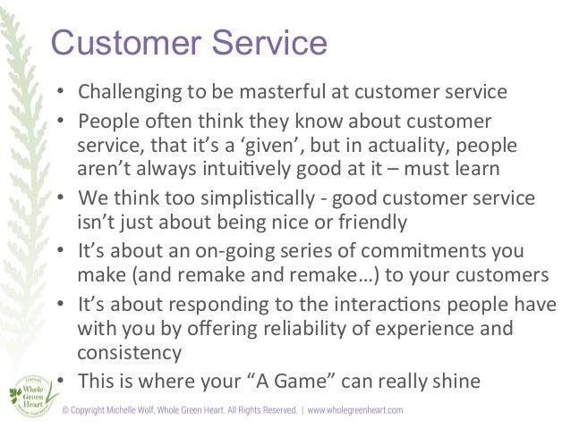 Customer Service slideshow Slide 3