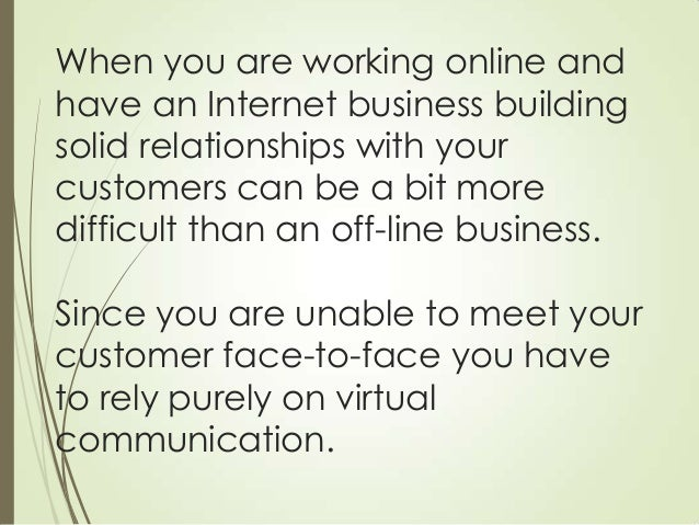 Customer service tips - how to build better relationships with your customers Slide 3
