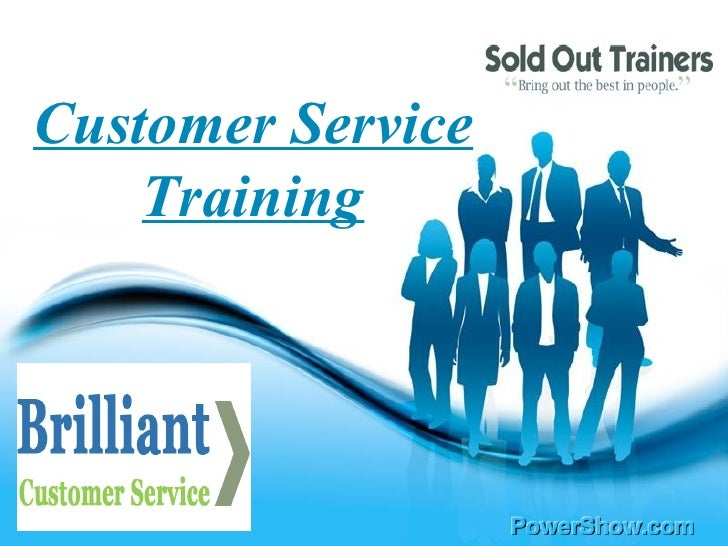 Free Powerpoint Templates Customer Service Training