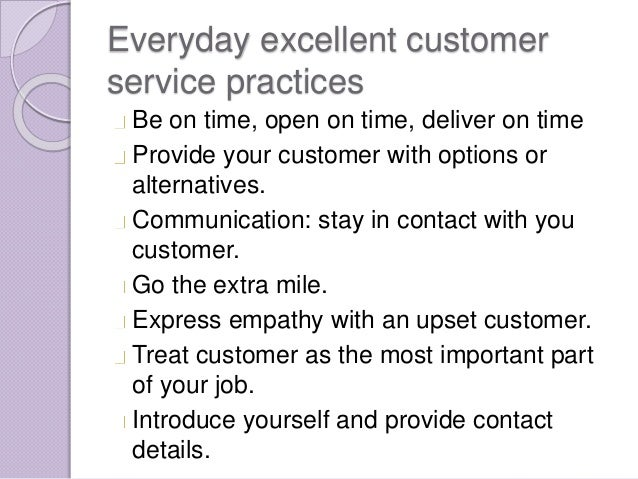 Excellent Customer Service Training  Excellent Customer Service