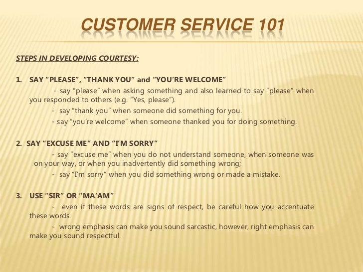 essay about good customer service