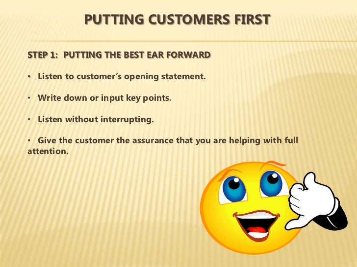power statements for customer service