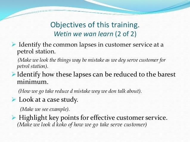 Customer service training for mobil filling station attendants(1)