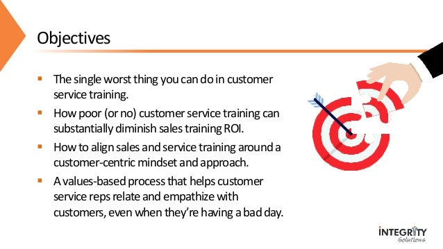 Your Customer Service Training is Sabotaging Your Sales Training