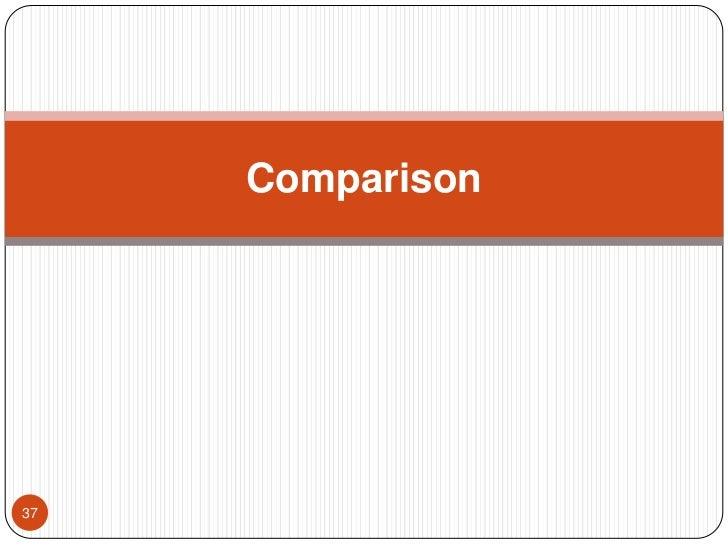 Comparison <br />37<br />