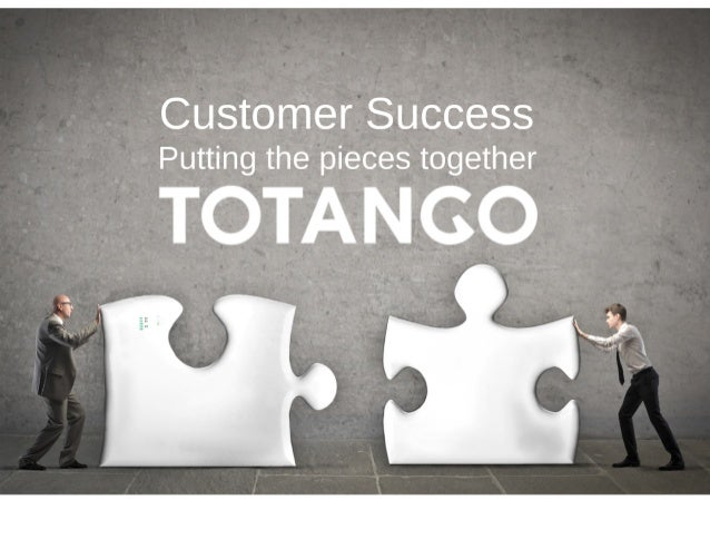 Customer success   putting the pieces together
