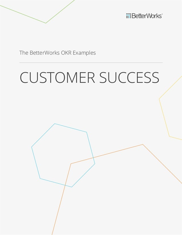 Goal Examples for Customer Success