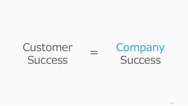 133 Customer Success Company Success =
