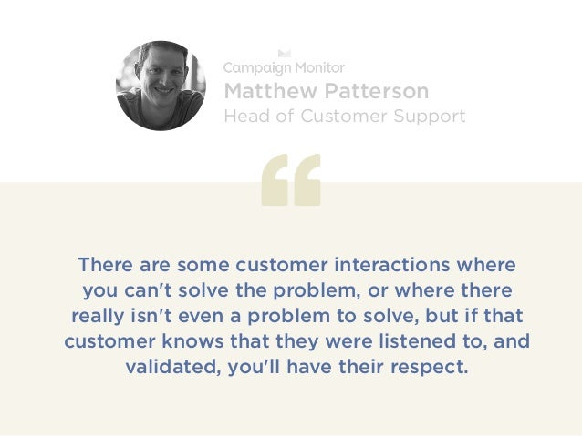 There are some customer interactions where you can't solve the problem, or where there really isn't even a problem to solv...