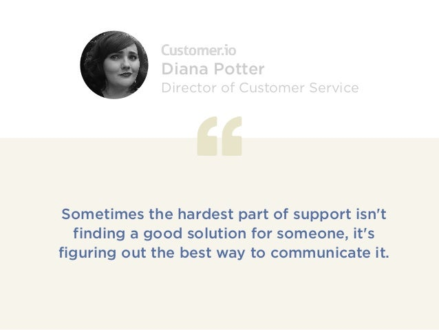 Sometimes the hardest part of support isn't finding a good solution for someone, it's figuring out the best way to communi...