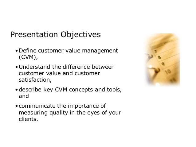 Customer value management Slide 2